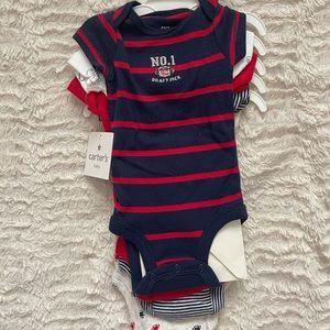 Carter's Newborn onesie set